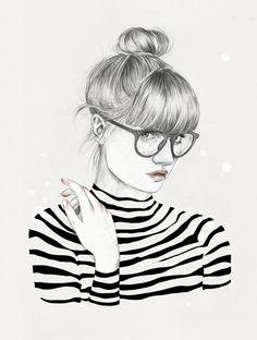ilustrações femininas