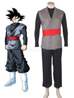 Dragon Ball Super Son Goku Kakarotto Halloween Cosplay Costume Black