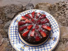 This simple vegan chocolate cake recipe is perfect for any occasion and is great to have on hand. Even non vegans love this vegan cake! Decadent Chocolate Cake, Vegan Chocolate, Cake Recipes, Dessert Recipes, Desserts, Raspberry, Strawberry, Vegan Cake, Good Food