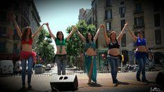 Danza oriental en la 11a Fira Modernista de Barcelona