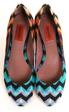 Missoni Ballet Flats-- I need a pair of these.