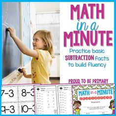 $$ Math Facts: Subtraction