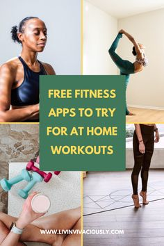 Try these free fitness apps to stay healthy at home. These free apps have everything from at-home yoga, meditation and HIIT workouts. Relaxation Exercises, Meditation Exercises, Yoga Meditation, Health And Fitness Apps, Free Fitness, Yoga Fitness, Free Workout Apps, Free Apps, Free Yoga