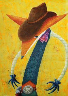 A Cowboy by Camilo Otálora