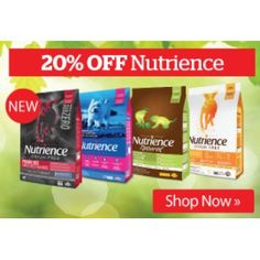 Nutrience - Dry Dog Food @ Pet.co.nz 20% Off - Bargain Bro