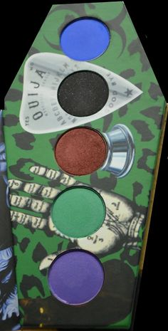 LunatiCK Cosmetic Labs Eyeshadow Pallettes, Zombie Defense