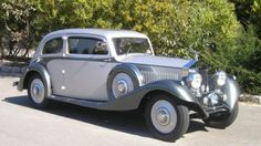1934 Rolls Royce 20/25 Swept Tail Sports Coupe