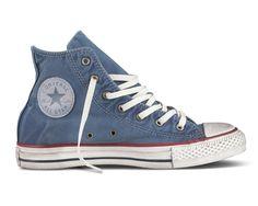 Converse Chuck Taylor All Star Well Worn Collection, las #zapatillas desgastadas de Converse