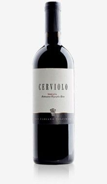 Cerviolo Rosso IGT Toscana 2008 – Az.Agricola San Fabiano Calcinaia – ToscanaDeep ruby colour and impenetrable with purplish, has an intense, persistent and complex where there are cherry, spices (especially liquorice and pepper), vanilla, tobacco and cocoa. In mouth is warm, very structured, soft and enveloping.