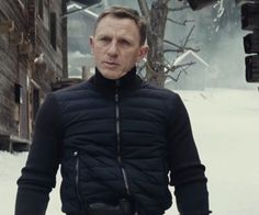 Tom Ford Ribbed Front Zipper Jacket as seen on James Bond in Spectre | TheTake