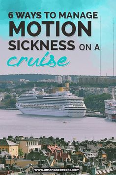 🔷🔷🔷 Get a cruise 🚢🚢🚢 for half price or even for free!🌎🌎🌎klick for more details.✔✔✔ 6 Ways to Manage Motion Sickness on a Cruise Packing For A Cruise, Cruise Travel, Cruise Vacation, Shopping Travel, Vacations, Cruise Port, Beach Travel, Vacation Ideas, Family Cruise