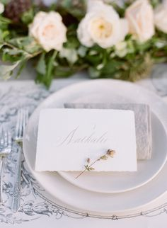 Elegant Green, White, and Mauve Wedding Ideas from oncewed.com