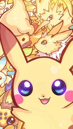 Pikachu and other electric pokemon