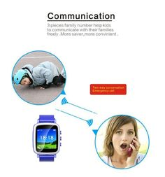 Kid gift Q80 GPS Smart Watch Wristwatch SOS Call Location Finder Locator Device Tracker for Kid Safe Anti Lost Monitor Baby | #TrackingDevicesForKids