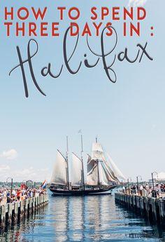 How to Spend 3 Days in Halifax Nova Scotia - Kaylchip Cabot Trail, Halifax Public Gardens, Nova Scotia Travel, Places To Travel, Places To Go, Visit Canada, Canada Trip, Canada Cruise, East Coast Travel