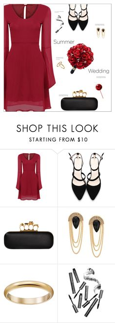 """""""Say I Do: Summer Weddings"""" by meyli-meyli ❤ liked on Polyvore featuring Alexander McQueen and Bobbi Brown Cosmetics"""