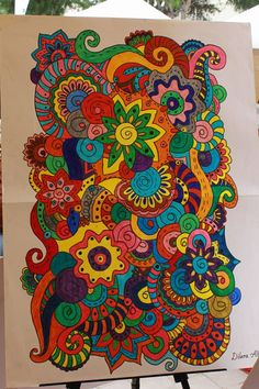 orta okul 7. sınıf görsel sanatlar dersi mandala çalışması