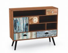 Latitude Vive This side cabinet will make a practical as well as a highly decorative addition to your hallway, living area or lounge room. Design Loft, Dcor Design, Decoration Design, Fabric Softener Sheets, Vintage Sideboard, Selling Furniture, Scandinavian Furniture, Style Vintage, Wood Construction