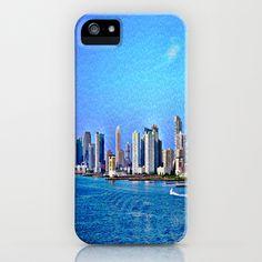 New York  Skyline   iPhone & iPod Case by Judy Palkimas - $35.00