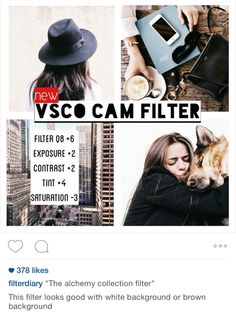 VSCO CAM - Ultimate guide to editing your Instagram photos
