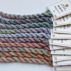 Vintage colours thread collection Perle No 12 £16.95