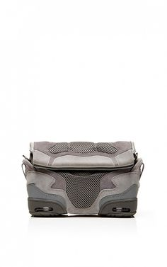 Alexander Wang Small Sneaker Sling In Light Concrete With Mesh // #Shopping