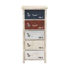 The Cool Wood Nautical 5 Drawer Chest