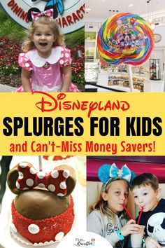 There are some fun ways to spoil the kids at the Disneyland Resort. Find out some Disneyland splurges plus money savers that are still a treat! Disney Vacation Planning, Disney World Vacation, Disney Cruise Line, Disney Vacations, Vacation Ideas, Vacation Pics, Disney Travel, Vacation Destinations, Trip Planning