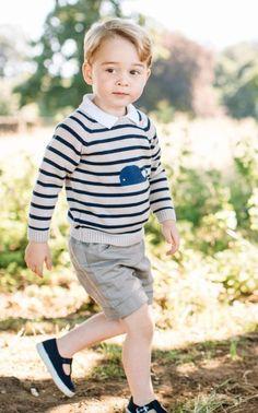 Novas fotos do Príncipe George divulgadas em celebração ao seu aniversário de 3 anos
