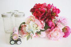 Easy Spring Floral Decor