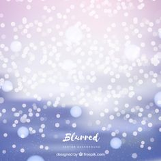 Bright background with bokeh effect Free Vector