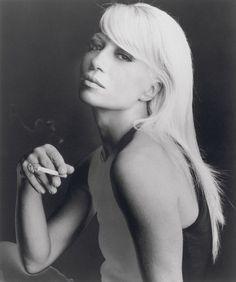 classic Donatella Versace Italian beauty