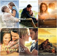 Nicholas Sparks books/movies!