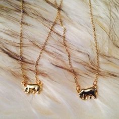 NWOT set of 2 elephant necklaces ✨CLOSETCLEAROUT✨ One for you, one for your bestie. Or sister! Or mom! Set of 2 gold plated necklaces with fixed elephants charms. Brand new and never worn. Gold Plated Necklace, Gold Necklace, Elephant Necklace, Fashion Design, Fashion Tips, Fashion Trends, Elephants, Besties, Charms