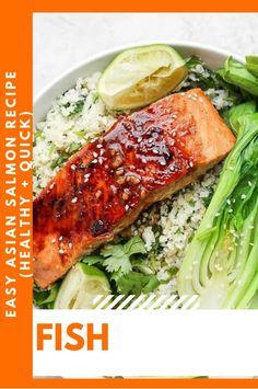 This Fish Recipes is so tasty! Fish Recipes Healthy Tilapia, Fried Fish Recipes, Easy Fish Recipes, Quick Healthy Meals, Asian Recipes, Healthy Recipes, Healthy Foods, Hot Tea Recipes, Asian Salmon