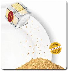 Edible gold leaf available here in many forms for your celebrations.  Edible silver leaf is also available.