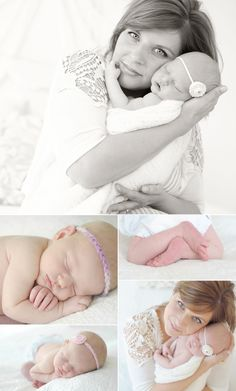 sweet newborn photos