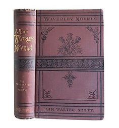 1878 The Fair Maid of Perth Sir Walter Scott Antique Victorian Classic