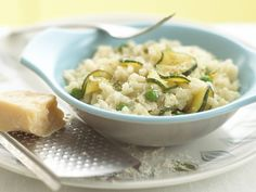I love risotto as you can keep changing the flavours according to the season. It is also a wonderful accompaniment to roast chicken. I like to saut