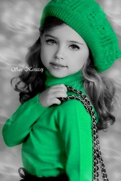 Winter Greens, Children of the World 🌍 Green Color Splash Photography by Sati Karatas Black And White Background, Black And White Pictures, Splash Photography, Color Photography, Color Splash, Color Pop, Couple Noir, Black Image, Color Of Life