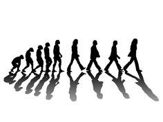 Cool T-shirt design | Abbey Road | Beatles Evolution by acantarela