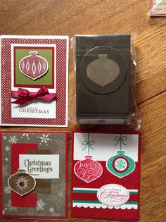 Stampin Up Ornament Punch NIP Retired Cards not Included | eBay