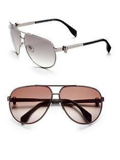 Alexander McQueen - Aviator Sunglasses
