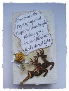 Christmas is.......