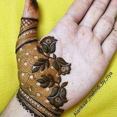 Basic Mehndi Designs, Henna Tattoo Designs Simple, Latest Bridal Mehndi Designs, Floral Henna Designs, Henna Designs Feet, Stylish Mehndi Designs, Dulhan Mehndi Designs, Wedding Mehndi Designs, Mehndi Designs For Fingers