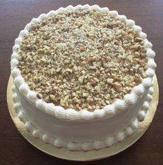 Banana Cake from Epicurious - 1st birthday cake idea