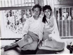 Aung San Suu Kyi in 1973 with husband, Michael Aris. In March, he passed away. He was an authority on Himalayan Buddhism at Oxford.