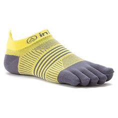 Injinji Women's Run Lightweight No-Show Toe Socks >>> You can find more details by visiting the image link.
