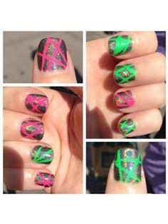 My VEGAS nails