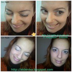 """Maquillaje basado en la Antártida, reto """"La vuelta al mundo en 11 maquillajes"""" http://eldenika.blogspot.com.es/2014/02/reto-la-vuelta-al-mundo-en-11.html"""
